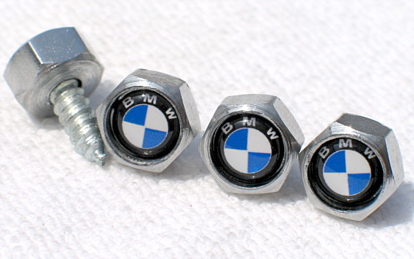 Automotive License Plate Bolts/Screws at BrazilShopping!